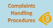 A complete set of Complaints Handling Procedures